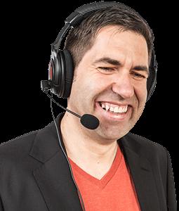 computerpate Markus mit Headset