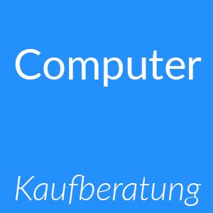 Kaufberatung und Empfehlung von Computern als Button zum Klicken